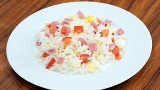 salade de riz - سلطة الأرز