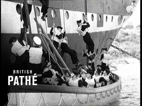 New Lifeboat Speeds Sea Rescue (1949)