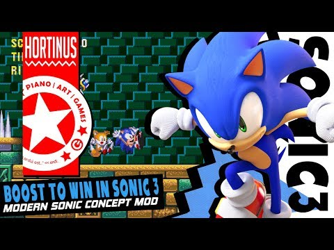 ✪  Modern Sonic in Sonic 3 Concept Mod   Part 2 (1080P @60 FPS) ✪