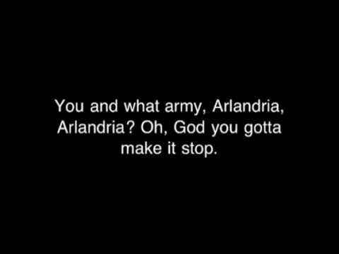 Arlandria - Foo Fighters With Lyrics