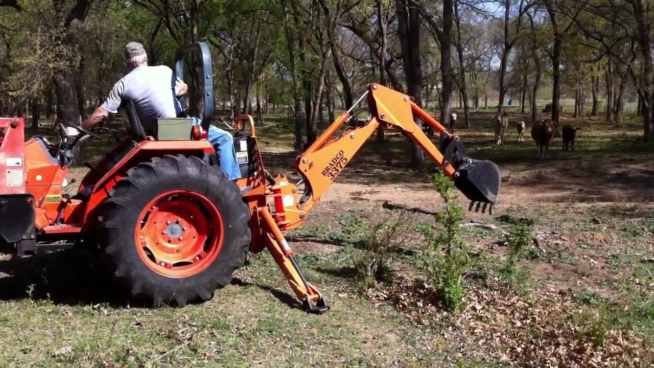 3 Point Hitch Backhoe Attachments : Homemade point hitch backhoe ftempo