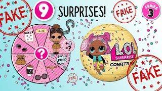 LOL Surprise Confetti POP • Bubel czy HIT? • chińska podróba