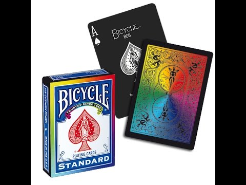 rainbow playing cards amazon