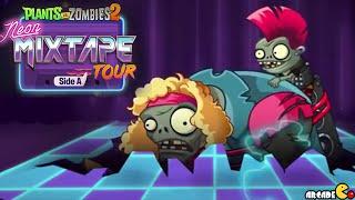 Plants Vs Zombies 2 - Neon Mixtape Tour Side A Trailer!