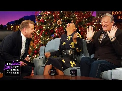Stephen Fry & Tracee Ellis Ross Talk Celibacy