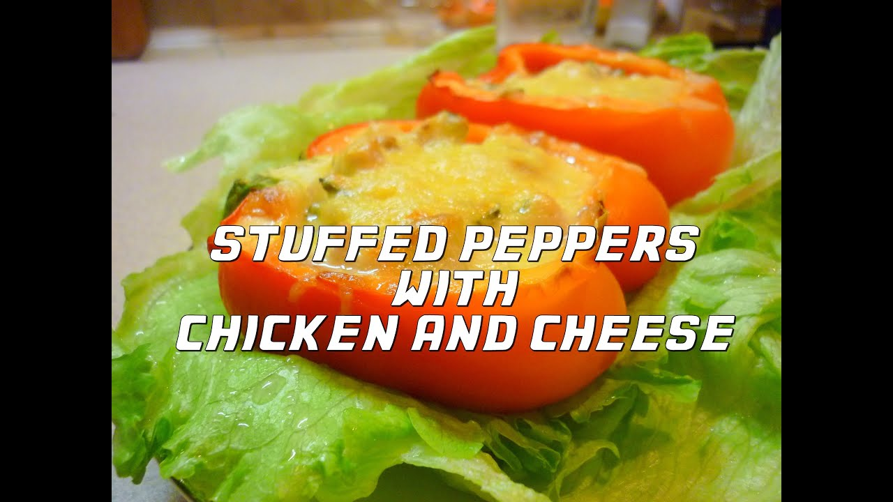 Stuffed Peppers With Chicken And Cheese
