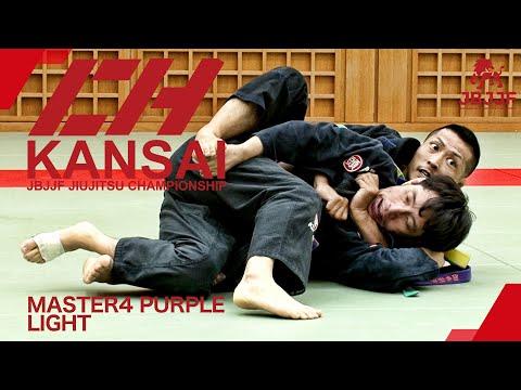 【JBJJF関西柔術選手権2021】マスター4紫帯ライト級