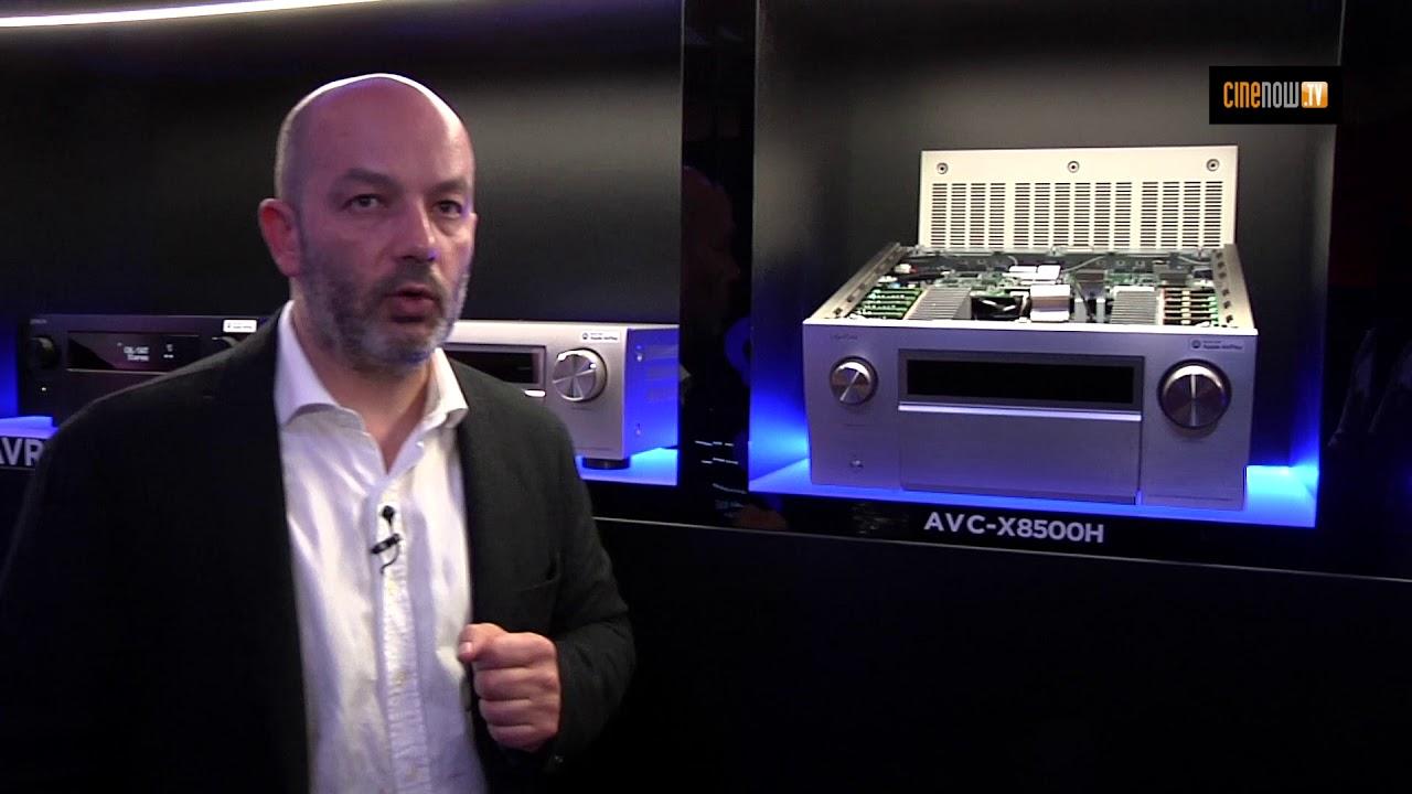 Denon AVR-X4500H, AVR-X6500H et AVC-X8500H