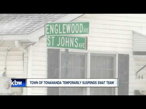 Town of Tonawanda suspends SWAT team