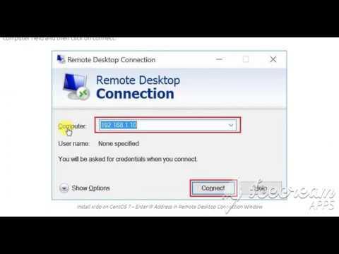 Centos How to instal xrdp and Config