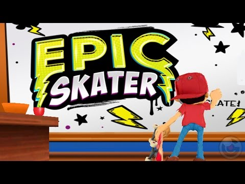 Epic Skater - iPhone/iPod Touch/iPad - Gameplay