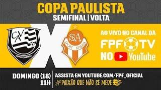 Votuporanguense 3 x 0 Atibaia - Copa Paulista 2018