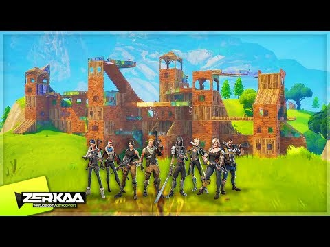 NEW 50 V 50 FORTNITE GAMEMODE! (Fortnite Battle Royale)