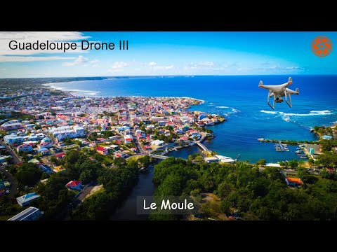 HD Drone Video | Le Moule, Guadeloupe