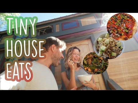 Tiny House Tour What We Eat In A Day