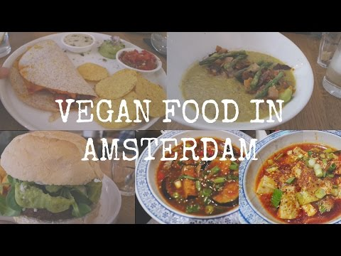 Vegan Adventures in Amsterdam | Meatless District | Starbucks | Chinese Food