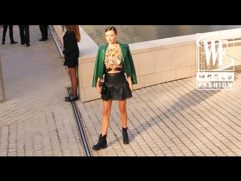 Street Style Paris Fashion Week Part 3 Youtube
