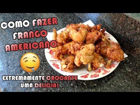COMO FAZER FRANGO AMERICANO KFC | Como Fazer Fácil #Receitas 56