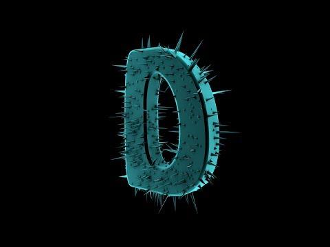 Tutoriel cinéma 4D_New Design Texte épiné 2ère méthode - FLASH DESIGN