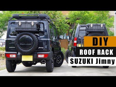 Expediční Zahrádka | 2. Díl | + Bonus Nosič Nad Rezervu Suzuki Jimny OFFTOUR Garage DIY