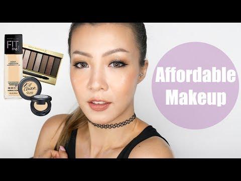 平價化妝品化個妝 (Colourpop, Maybelline Fit Me, Max Factor) Affordable Makeup | HIDDIE T