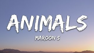 Maroon 5 - Animals (Lyrics) YouTube Videos
