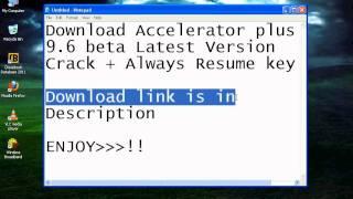 download accelerator plus key