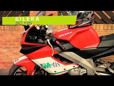 Gilera 125 SC not only for beginner's/ overlook and drive