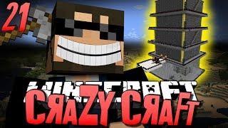 Minecraft CRAZY CRAFT 21 - ROYAL GUARDIAN DUNGEON (Minecraft Mod Survival)