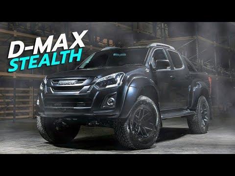 โคตรดุ 2018 Isuzu D-Max Stealth ในชุดแต่ง Arctic Trucks ทำขายแค่ 10 คัน