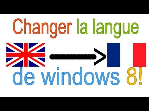 how to change language in windows 8