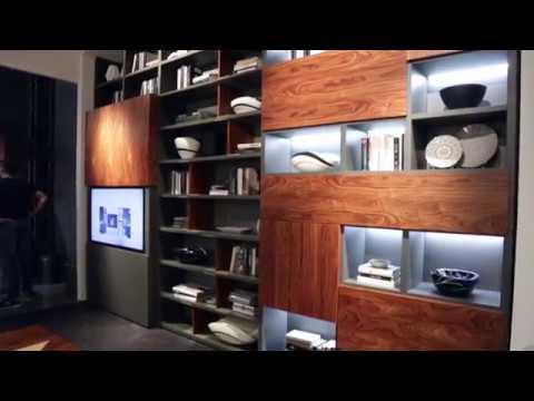 Salone del Mobile 2017 | FIMAR | librerie design, soggiorni moderni, letti e cabine armadio