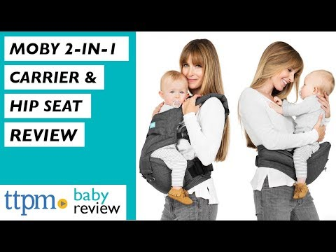 Moby 2 In 1 Carrier Hip Seat From Moby Youtube