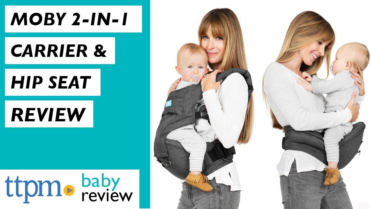 Moby 2 In 1 Carrier Hip Seat From Moby