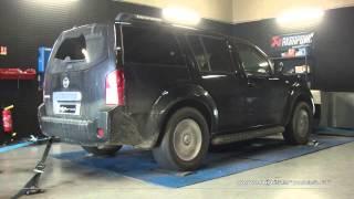 Reprogrammation Moteur Nissan Pathfinder dci 173cv @ 197cv Digiservices Paris 77183 Dyno