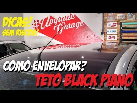 Thumbnail: Como envelopar teto Black Piano? Dicas UPGRADE GARAGE Envelopamento ;)