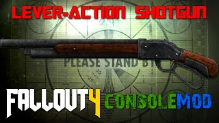 Video Fallout 4 Console Mods ~ Lever-Action Shotgun download MP3, 3GP, MP4, WEBM, AVI, FLV Agustus 2018