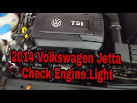 2014 Volkswagen Jetta Engine Light