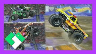 CRAZY MONSTER JAM FREESTYLE Day 1652
