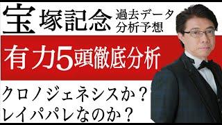 【宝塚記念2021】クロノジェネシス?レイパパレ?有力5頭を徹底分析