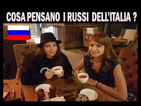 """""""Cosa pensano i russi  dell'Italia e degli Italiani ?"""" - domande a Mosca"""