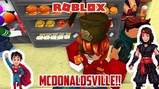 Roblox: WE GOTO MCDONALDSVILLE!