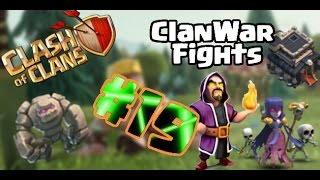 "3 Sterne GoWiWi Taktik Guide I #ClanWar 19 I Clash of Clans ""German/Deutsch HD"""