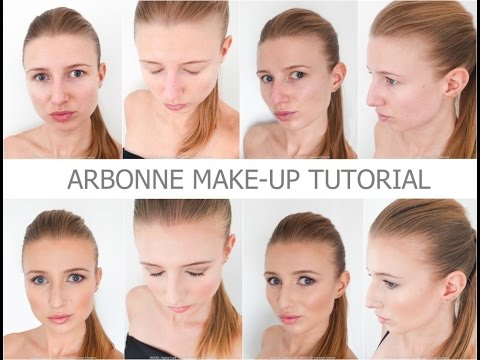 ARBONNE MAKE-UP TUTORIAL - Daily look / healthy make-up