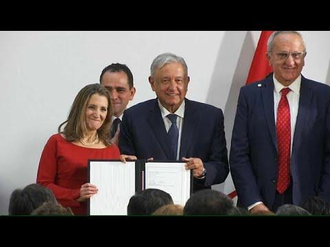 توقيع اتفاق التبادل الحر بين الولايات المتحدة وكندا والمكسيك بعد مراجعته…  - نشر قبل 3 ساعة