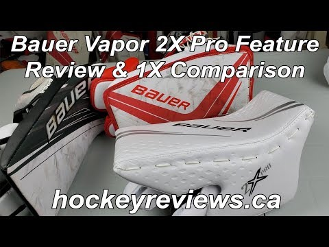 Bauer Vapor 2X Pro Blocker Feature Review & 1X Comparison