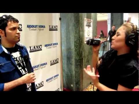 Interview for VIP Latino @ LAMC (Behind the scenes) - Juan Francisco Zerpa