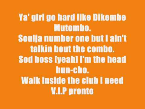 Soulja Boy- Pronto Lyrics