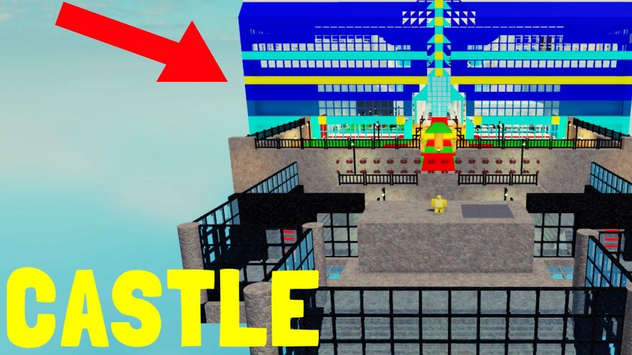 CASTLE ROBLOX PIGGY BUILD MODE 로블록스 피기 빌드 모드 캐슬 맵