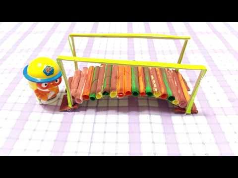 Handmade Bridge : Learn How to make Paper Miniature Bridge #Craftideas